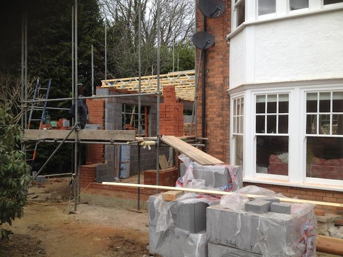 Extension being started